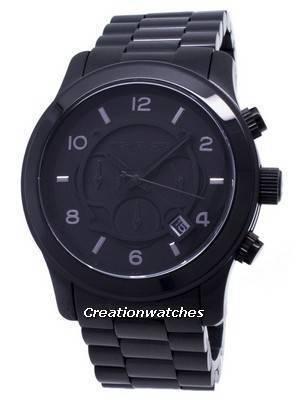 Michael Kors Blacked Out Runway Chronograph MK8157 Men\'s Watch