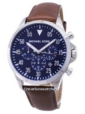 Michael Kors Gage Chronograph Blue Dial MK8362 Men's Watch