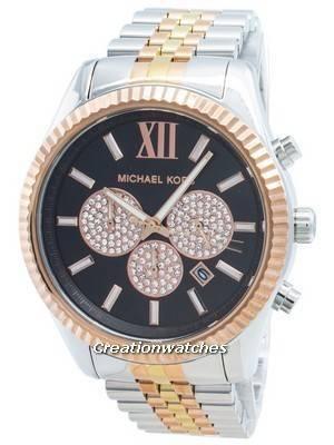 Michael Kors Lexington MK8714 Diamond Accents Quartz Men\'s Watch