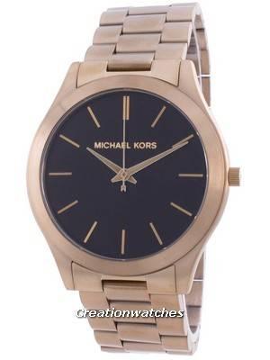 Michael Kors Slim Runway Black Dial Quartz MK8795 Men\'s Watch
