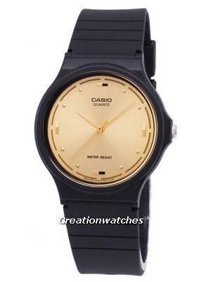 Casio Quartz Enticer Analog Gold Dial MQ-76-9ALDF MQ-76-9AL Men's Watch