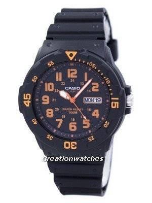 Casio Quartz Analog Black Dial MRW-200H-4BVDF MRW200H-4BVDF Men's Watch