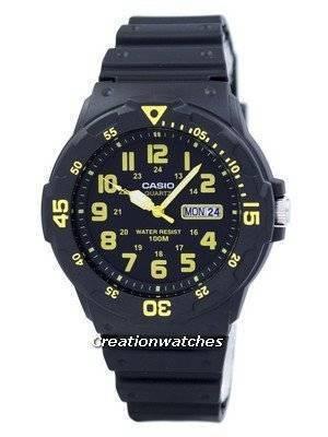 Casio Quartz Analog Black Dial MRW-200H-9BVDF MRW-200H-9BV Men's Watch