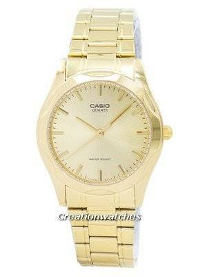 Casio Quartz Analog Gold Plated MTP-1275G-9ADF MTP1275G-9ADF Men's Watch
