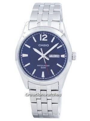 Casio Enticer Analog Quartz MTP-1314D-2AVDF MTP1314D-2AVDF Men's Watch