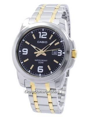 Casio Enticer Analog Quartz MTP-1314SG-1AV MTP1314SG-1AV Men's Watch