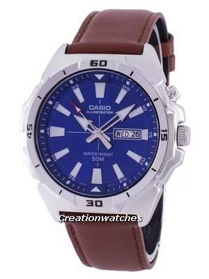 Casio Illuminator Analog Quartz MTP-E203L-2AV MTPE203L-2AV Men's Watch