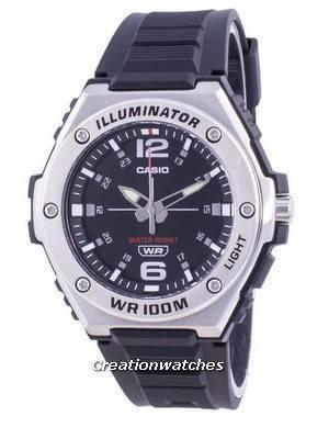 Casio Youth Illuminator Quartz MWA-100H-1AV MWA-100H-1AV 100M Men\'s Watch