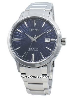 Relógio Citizen Automatic NJ2180-89L Titanium para homem