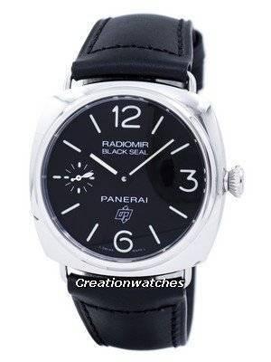 Panerai Radiomir Black Seal Logo Acciaio Automatic PAM00380 Men's Watch
