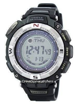 Casio Protrek Triple Sensor Tough Solar PRG-130-1V PRG130-1V PRG130 Tide Graph Watch