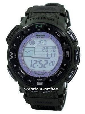 Casio Protrek Solar Power PRG-250B-3 Mens Watch