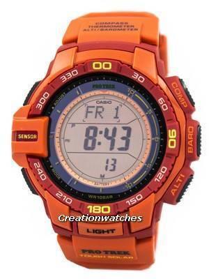 Casio Protrek Tough Solar Triple Sensor PRG-270-4A Watch