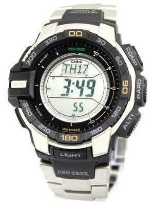 Casio Protrek Tough Solar Triple Sensor PRG-270D-7 Men's Watch
