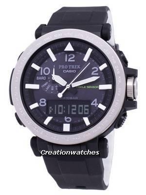 Relógio Casio ProTrek Triplo Sensor Solar Resistente PRG-650-1 PRG650-1