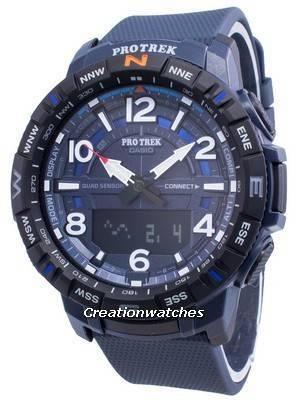 Casio PROTREK Quad Sensor PRT-B50-2 Digital Compass Quartz Men\'s Watch