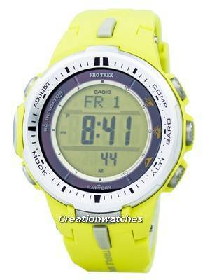 Casio Protrek Triple Sensor Atomic PRW-3000-9B PRW3000-9B Watch