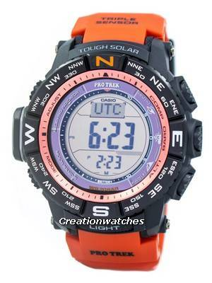Casio Protrek Digital Atomic Tough Solar Triple Sensor PRW-3500Y-4D Watch