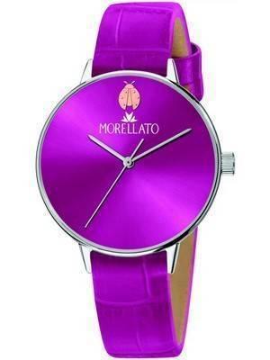 Relógio feminino Morellato Ninfa roxo com mostrador quartzo R0151141528