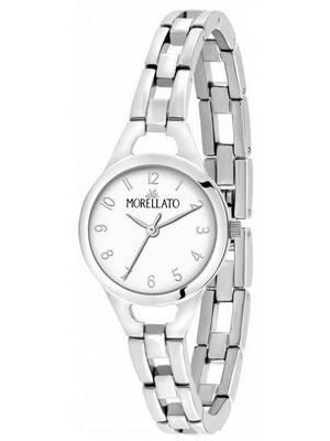 Relógio feminino Morellato feminino com mostrador branco quartzo R0153155503