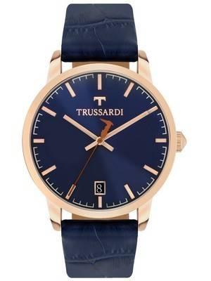 Trussardi T-Genus R2451113001 relógio de quartzo para homem