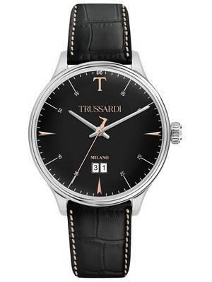 Trussardi T-Complicity R2451130002 Relógio de quartzo para homem