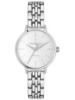 Trussardi T-Sun quartzo analógico R2453126504 relógio das mulheres