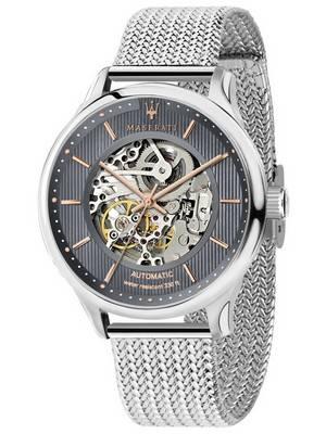 Maserati Gentleman R8823136004 Automatic Skeleton Men\'s Watch