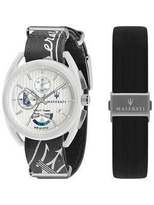 Maserati Trimarano Yacht Timer Chronograph Quartz R8851132002 100M Men\'s Watch