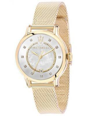 Maserati Epoca Quartz Diamond Accents R8853118502 Women\'s Watch