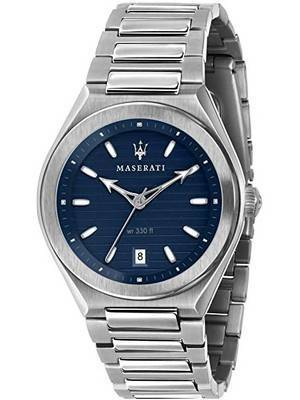 Maserati Triconic Blue Dial Quartz R8853139002 100M Men\'s Watch