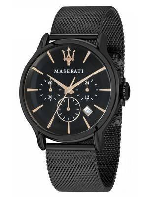 Maserati Epoca Chronograph Quartz Relógio Masculino R8873618006