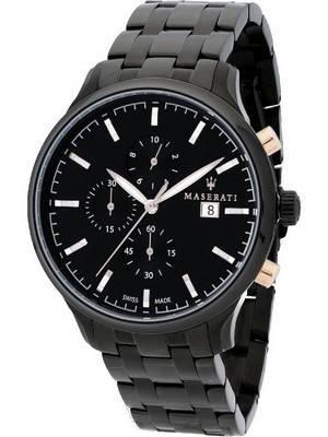 Maserati Attrazione Chronograph Quartz R8873626001 100M Men\'s Watch