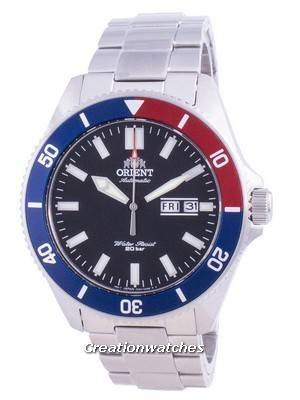 Orient Sports Diver Black Dial Automatic RA-AA0912B19B 200M Men\'s Watch