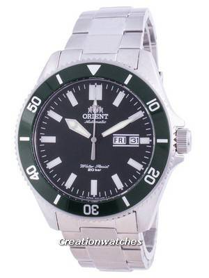 Orient Sports Diver Green Dial Automatic RA-AA0914E19B 200M Men\'s Watch