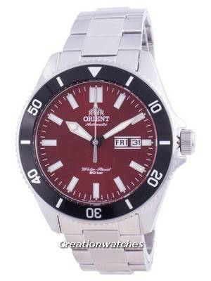Orient Sports Diver Red Dial Automatic RA-AA0915R19B 200M Men\'s Watch