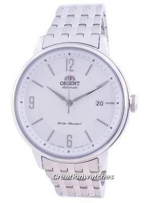 Orient Silver Dial Stainless Steel Automatic RA-AC0J10S10B Men\'s Watch