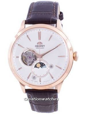 Orient Sun & Moon Phase Open Heart Dial Automatic RA-AS0102S10B Men\'s Watch