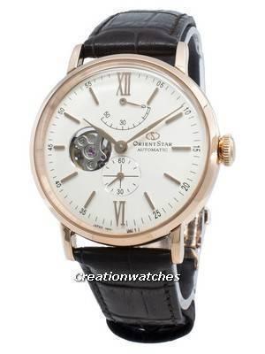Orient Star RE-AV0001S00B Semi Skeleton Automatic Men\'s Watch