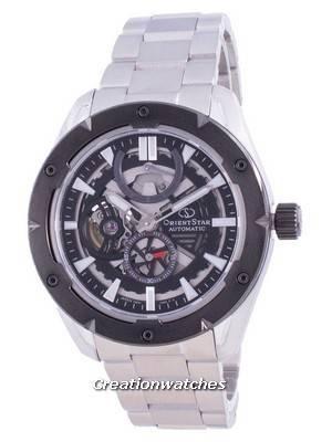 Orient Star Avant-Garde Open Heart Automatic RE-AV0A01B00B Japan Made 100M Men\'s Watch