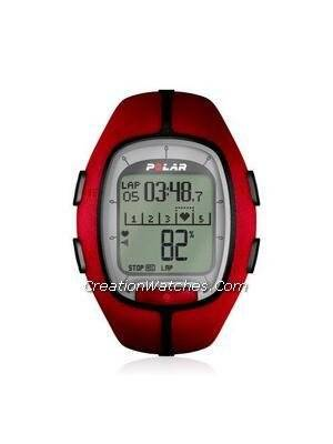 Polar Running Heart Rate Monitor Watch Foot Pod RS200sd Red