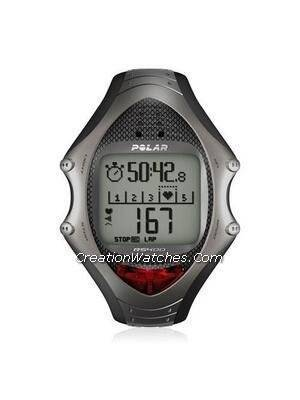 Polar Running Heart Rate Monitor Watch RS400sd with Foot Pod