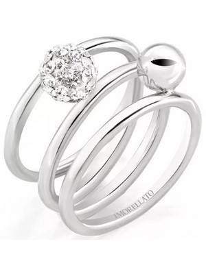Morellato Luminosa Stainless Steel SAET09012 Women\'s Ring