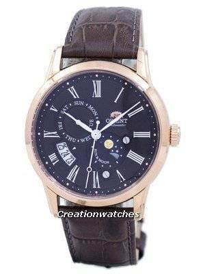 Orient Sun & Moon Automatic Japan Made SAK00003T0 Men's Watch