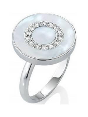 Anel feminino em prata esterlina Morellato Perfetta SALX09018