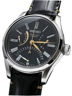"Seiko Presage ""URUSHI"" Automatic Power Reserve SARD011 Men's Watch"