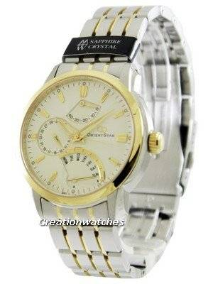 OrientStar Retrograde Power Reserve SDE00001W Men's Watch