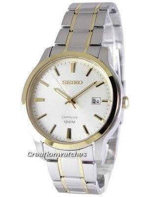 Seiko Neo Classic Quartz Sapphire 100M SGEH42 SGEH42P1 SGEH42P Men\'s Watch