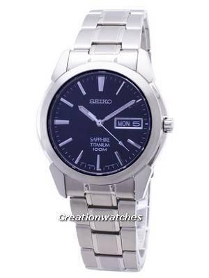 Seiko Titanium Sapphire SGG729 SGG729P1 SGG729P Men's Watch