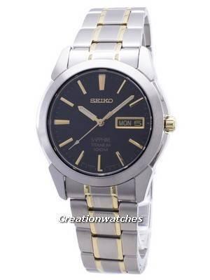 Seiko Sapphire Titanium SGG735 SGG735P1 SGG735P Quartz Men's Watch